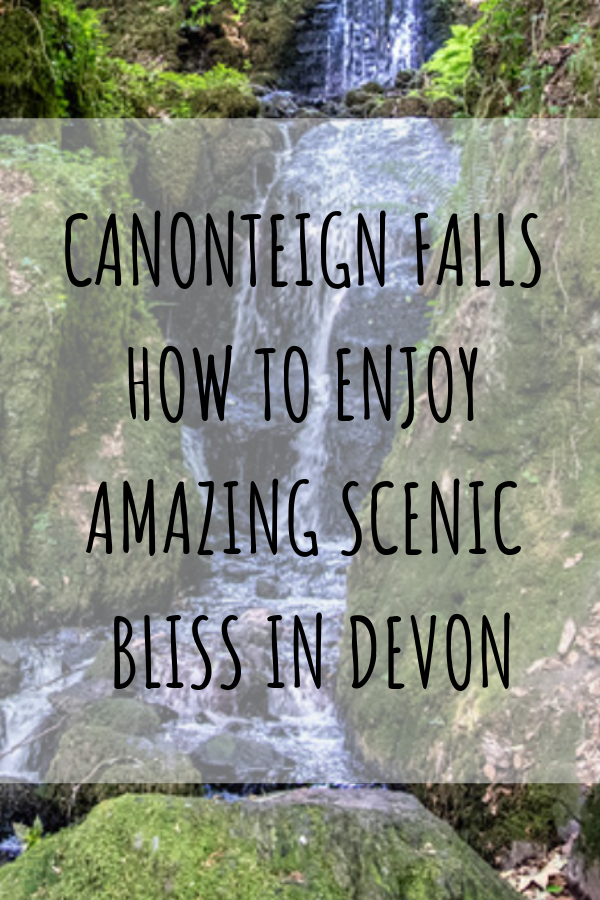During our recent trip to the UK, we experienced camping in Devon, which is something we would strongly recommend to anyone with aspirations of enjoying the best of the UK! In the heart of this county is Dartmouth National Park and it's here where you can find one of England's tallest waterfalls – Canonteign Falls! #Hikes #Devon #UK #UnitedKingdom #Waterfall