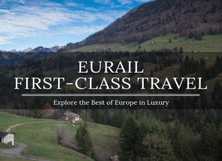 eurail first class travel