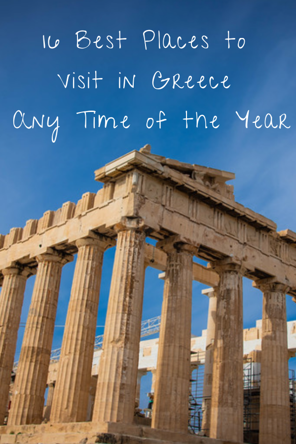 Did you know that Greece has 6,000 islands in total? It's true and yet it's still pretty astounding to think that a nation can have that many islands associated with it. Can you imagine how difficult it is trying to pinpoint the very best places to visit in Greece from such a plethora of breathtaking options to choose from? #Greece #BestPlaces #Travel