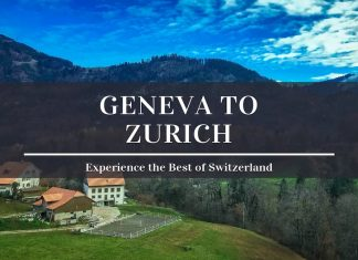 geneva to zurich