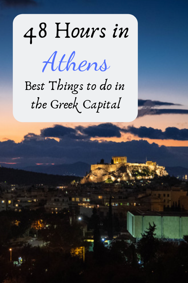 Our first visit to Greece saw us spend 48 hours in Athens and honestly, we barely touched the surface yet still managed to experience many of the amazing landmarks that we associate with the Greek capital. #Greece #Athens #Greek #TravelGuide