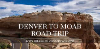 Denver to Moab Road Trip