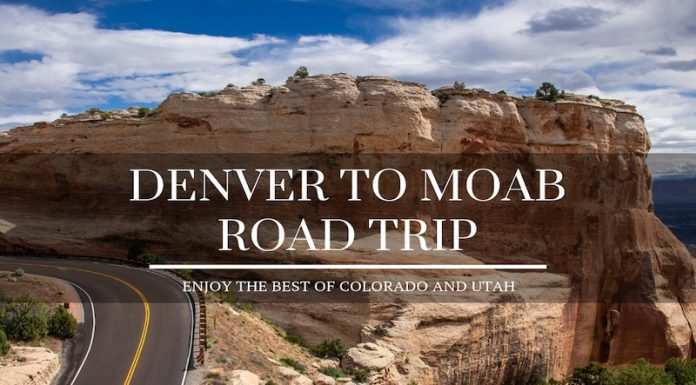 Denver to Moab Road Trip
