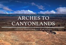 arches to canyonlands national park