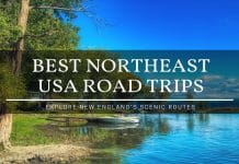 best northeast usa road trips