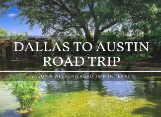 Dallas to Austin Road Trip