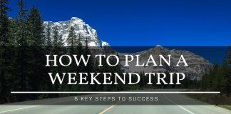 plan a weekend trip