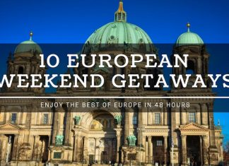 weekend getaways in europe