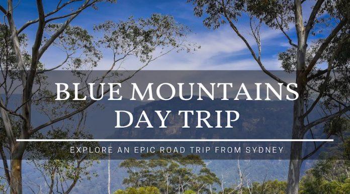blue mountains day trip