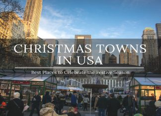 best christmas towns in usa